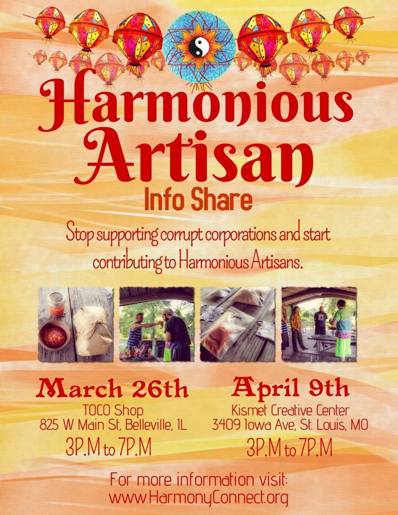 Harmonious Artisan Info Shares