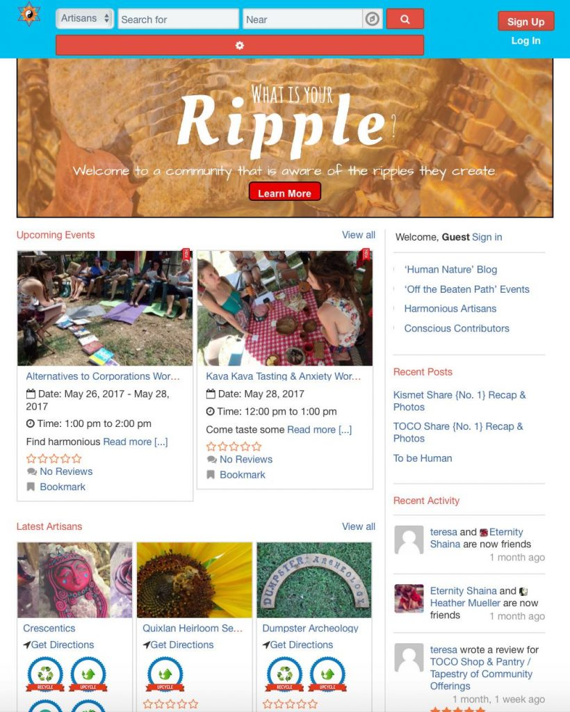 New Name – Ripple of Existence